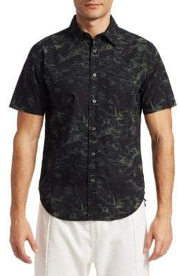 Madison Supply Printed Button-Down Shirt