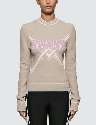 Off-White Off White Knit Swans Sweater