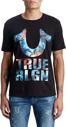 True Religion MENS ASTRO STACK LOGO TEE