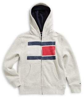 Tommy Hilfiger Little Boy's Little Kid's Logo Graphic Hoodie