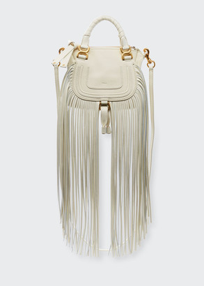 Chloé Marcie Mini Fringe Satchel Bag