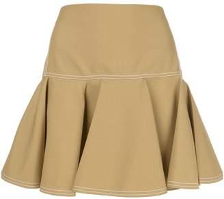 Chloé pleated mini skirt