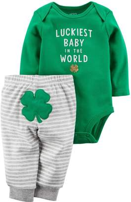 Carter's Boys' 2-Piece ST. Patrick's Day Bodysuit Pant Set