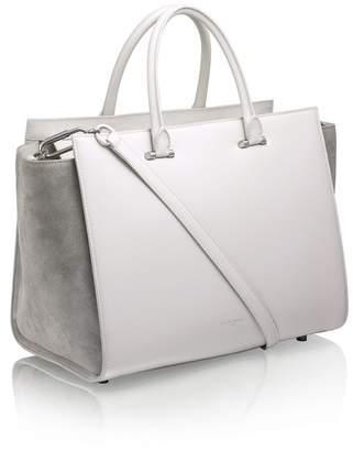 Amanda Wakeley Eastwood Mineral Leather Handbag