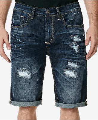 Buffalo David Bitton Men's Parker-X Slim-Fit Stretch Jean Shorts $69 thestylecure.com