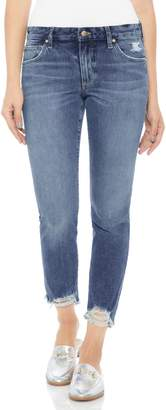 Joe's Jeans Smith Distressed Crop Straight Leg Jeans