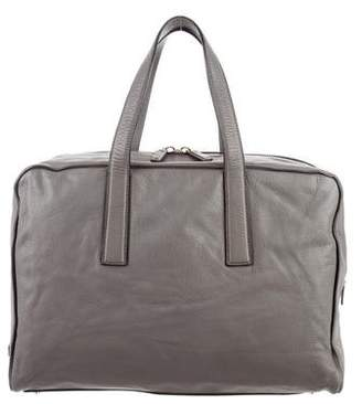Calvin Klein Collection Oversize Leather Tote