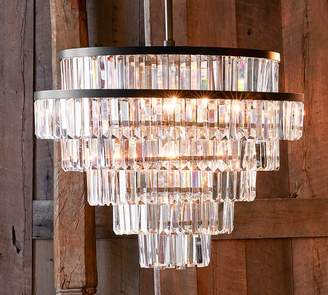 Pottery Barn Gemma Crystal Round Chandelier