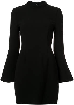 Rachel Zoe flared sleeves fitted dress