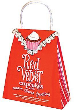 JCPenney Red Velvet Cupcake & Cream Cheese Frosting Mix