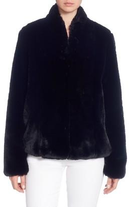 Women's Catherine Catherine Malandrino Faux Fur Jacket