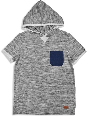 7 for All Man Kind Boys' Slubbed Hooded Tee - Sizes 8-16 $35 thestylecure.com