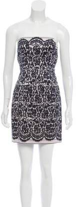 Tibi Printed Silk & Wool Dress