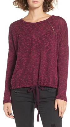 Roxy Loose Ends Knit Pullover $44.50 thestylecure.com