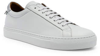 Givenchy Urban Street Low Sneakers in White & Silver | FWRD