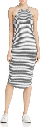 LNA Stripe Rib Knit Tank Dress $124 thestylecure.com