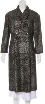 Oscar de la Renta Virgin Wool Coat w/ Tags