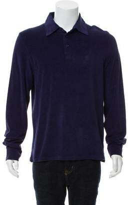 Vilebrequin Terrycloth Long-Sleeve Polo