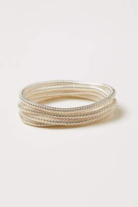 H&M 4-pack Bracelets - Silver
