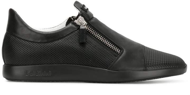 Baldinini logo zipped sneakers