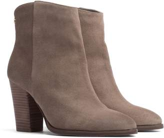Tommy Hilfiger Suede Heeled Boot