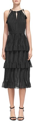Whistles Imie Amena Tiered Dress $389 thestylecure.com