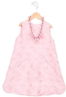 Mimisol Girls' Sleeveless Polka Dot Dress w/ Tags