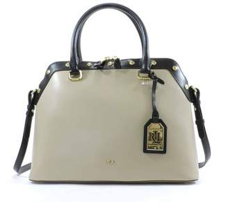 Ralph Lauren Tate Studded Dome Satchel