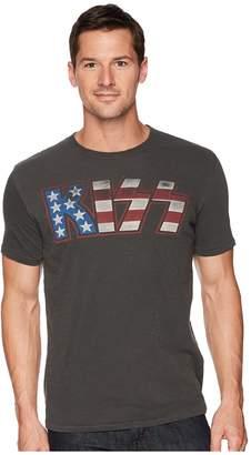 Lucky Brand Kiss American Flag Tee Men's Clothing