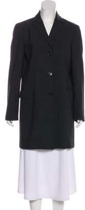 Calvin Klein Collection Wool-Blend Coat