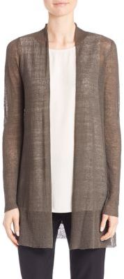 Eileen Fisher Open-Front Cardigan $268 thestylecure.com