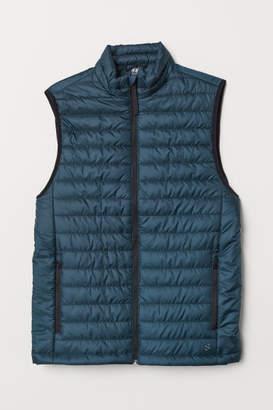 H&M Padded Outdoor Vest - Blue