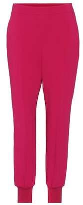 Stella McCartney Julia crêpe trousers