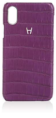 Hadoro Alligator iPhone® X Hard Case - Purple
