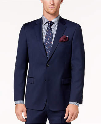 Tommy Hilfiger Men Modern-Fit Th Flex Stretch Navy Twill Suit Jacket