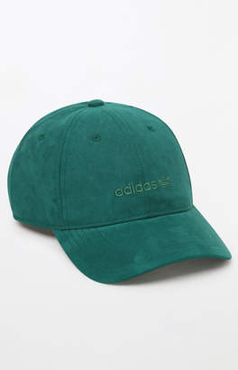 adidas Relaxed Plus Green Strapback Dad Hat