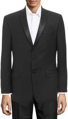 Calvin Klein Slim Fit Satin Trim Tuxedo Jacket