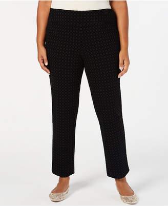 Charter Club Plus Size Cambridge Ponte-Knit Pants
