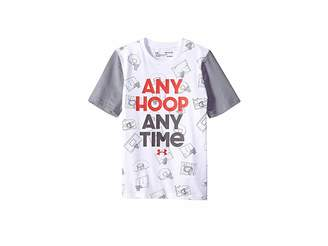 Under Armour Kids UA Any Hoop Any Time Short Sleeve Tee (Big Kids)
