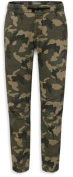 DL Premium Denim Little Boy's& Boy's Camo Jogger Pants