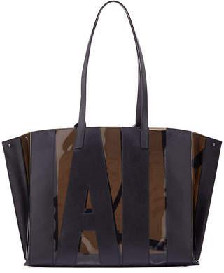 Akris Ai Medium Transparent Soft Shoulder Bag