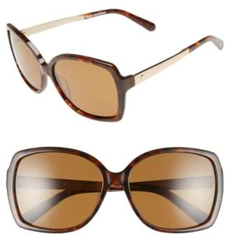 Kate Spade 'darilynn' 58mm Polarized Sunglasses