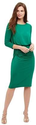 Phase Eight Rebecca Ruche Skirt Dress