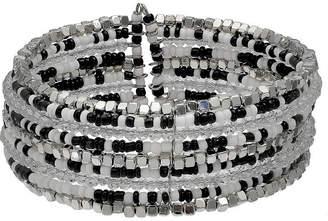 MIXIT Mixit Womens Black Cuff Bracelet