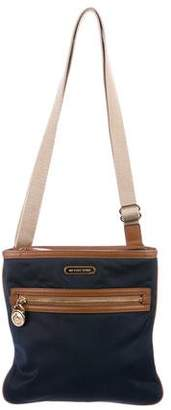 MICHAEL Michael Kors Leather-Trimmed Nylon Crossbody Bag