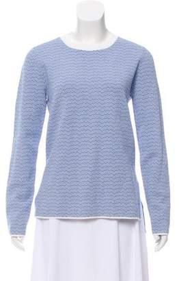 Tory Sport Knit Long Sleeve Top