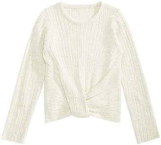 Epic Threads Big Girls Wrap-Front Sweater