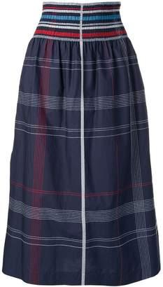 Sportmax checked midi skirt