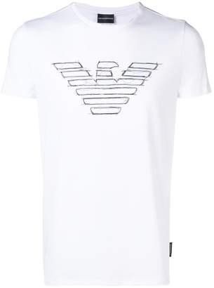 Emporio Armani short-sleeve logo T-shirt