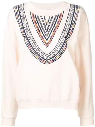 Acoté navajo motif sweatshirt